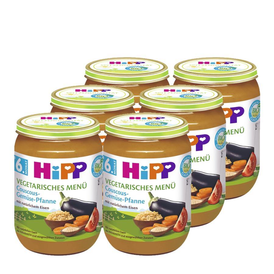 HiPP Couscous-Gemüse-Pfanne 6x190g