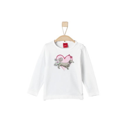 s.Oliver Girls Longsleeve white