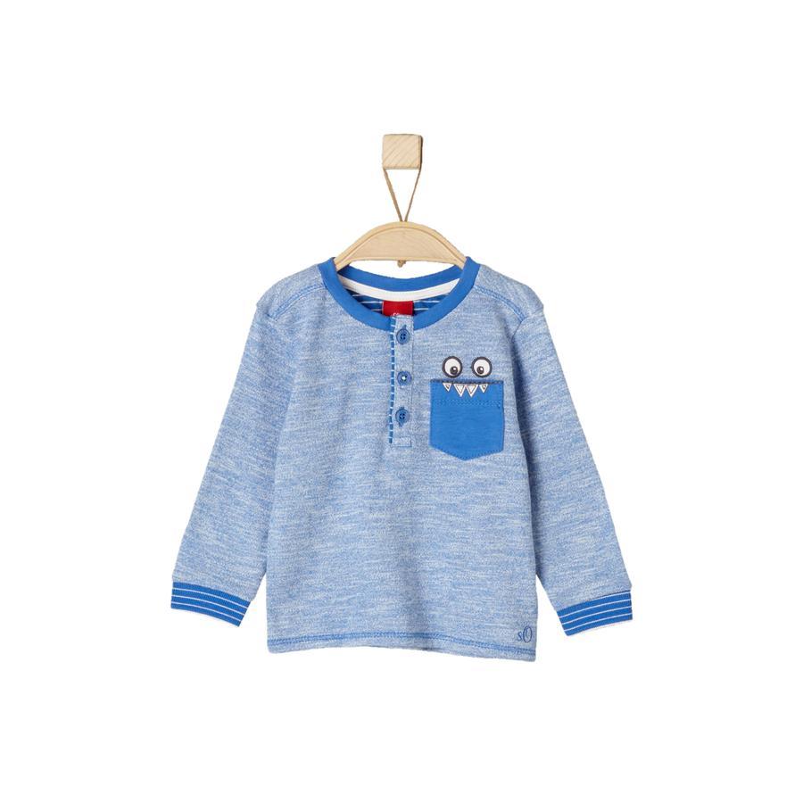 s.Oliver Boys Longsleeve medium blauw