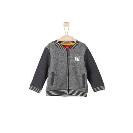 s.Oliver Boys Sweatjacke dark grey