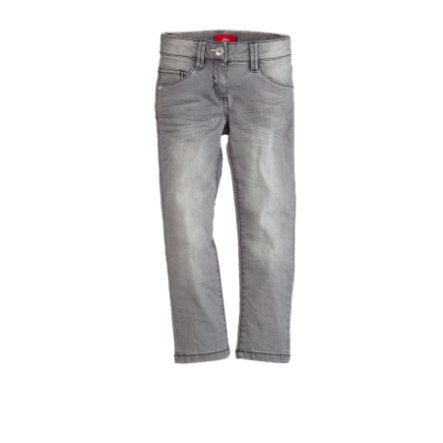 s.Oliver Girls Jeans grey denim stretch regular