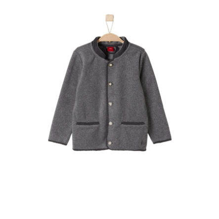 s.Oliver Boys Fleecejacke dark grey melange