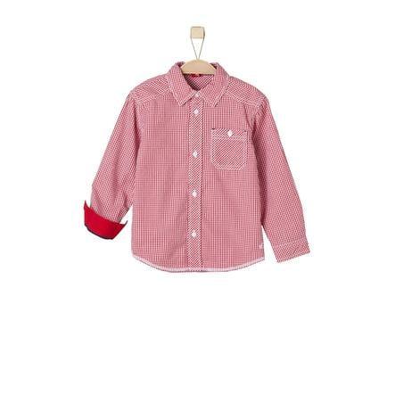 s.Oliver Boys Hemd red check
