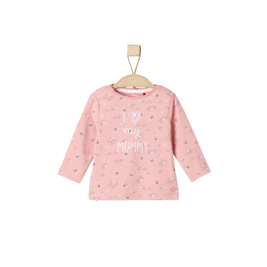 s.Oliver Girls Longsleevee light pink