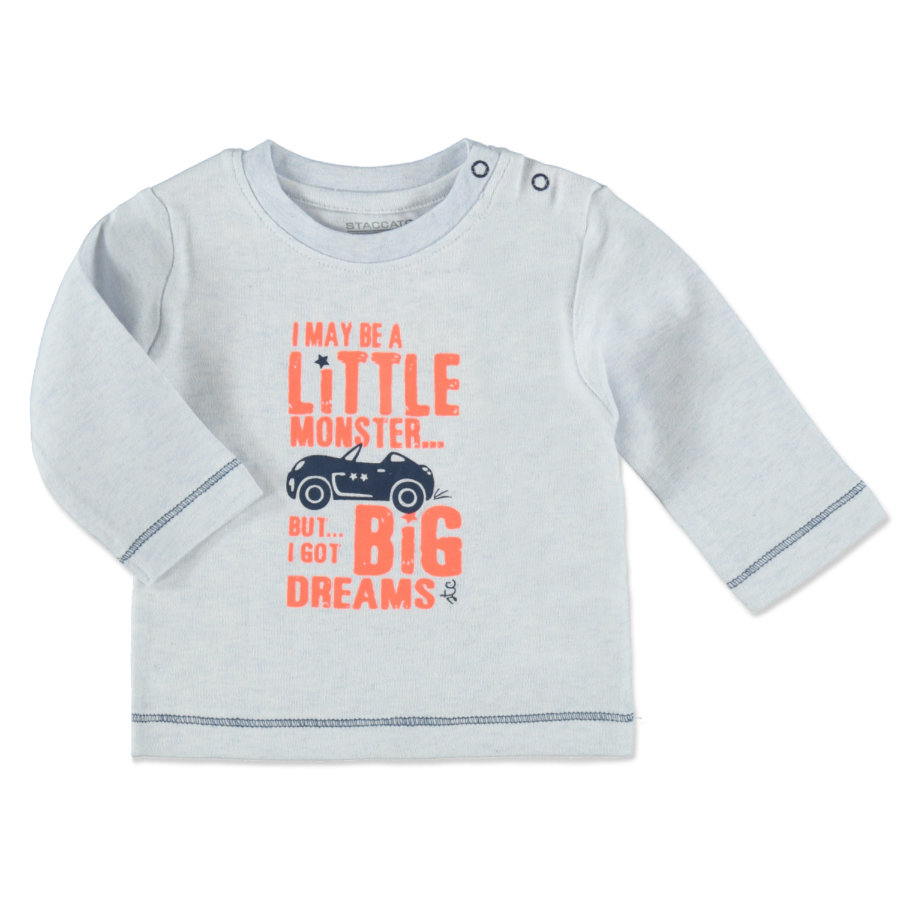 STACCATO Boys Baby Langarmshirt soft sky melange