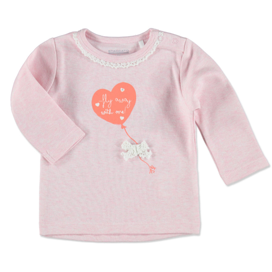 STACCATO Girls Baby Shirt light rose melange