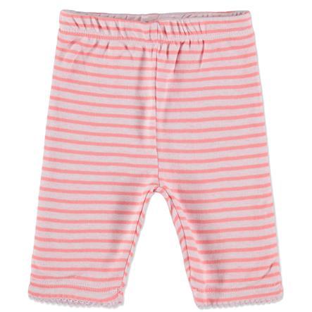 STACCATO Girl s Dwustronne spodnie dla niemowląt w paski róży
