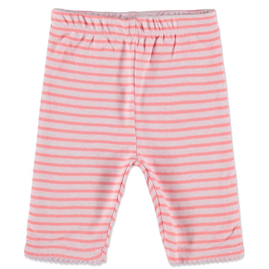 STACCATO flickor Baby vändbara byxor rosa ränder