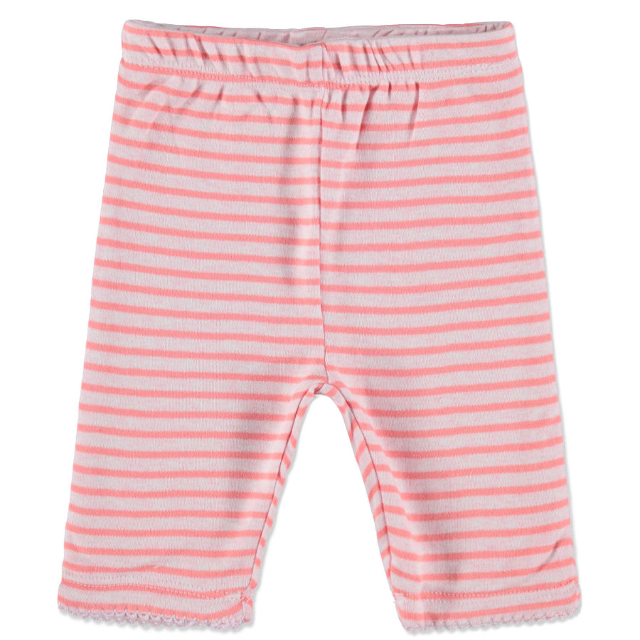 STACCATO Girl s Pantalone bebé reversibile a righe rosa