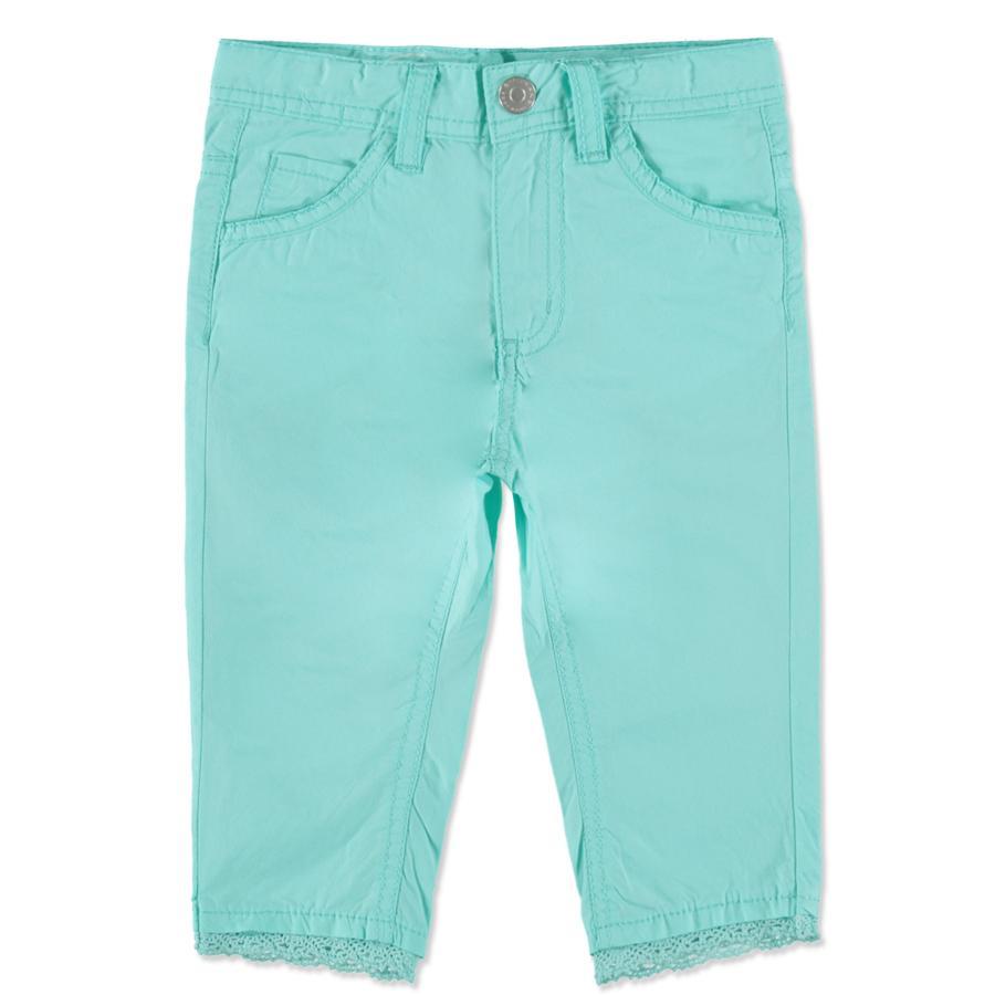 STACCATO Boys Mini pantalon Capri vert glace