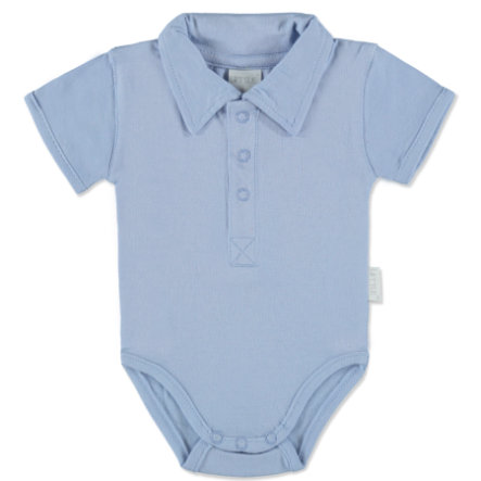 LITTLE Body Polo blau