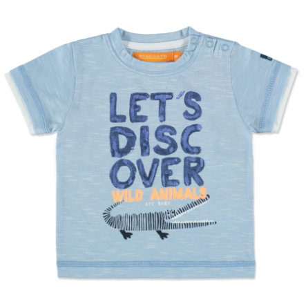 STACCATO Boys Baby T-Shirt blue structure