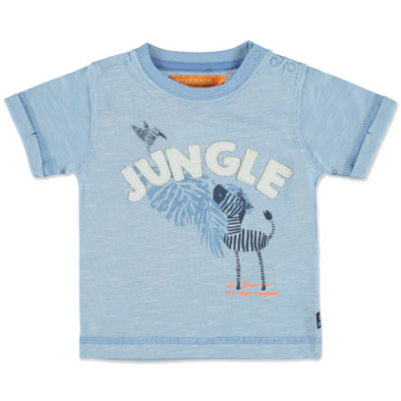 STACCATO Boys Baby T-Shirt light blue melange structure