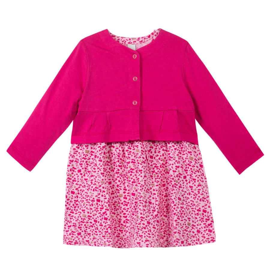 ESPRIT Girls Kleid im Leopardenmuster