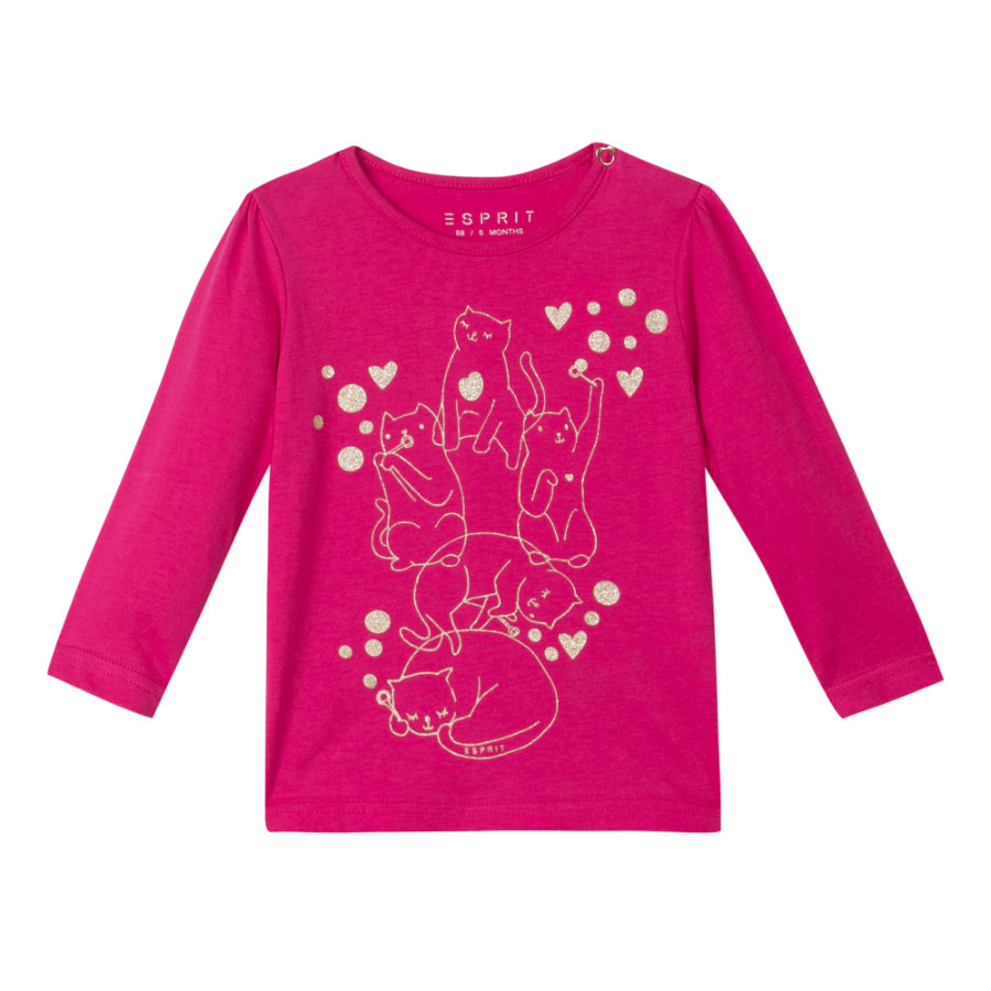 ESPRIT Girls T-shirt pink