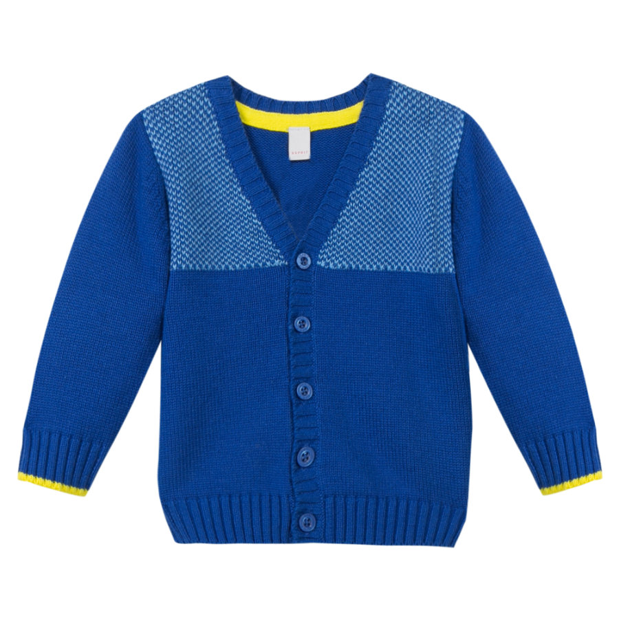 ESPRIT Boys Cardigan bright blue