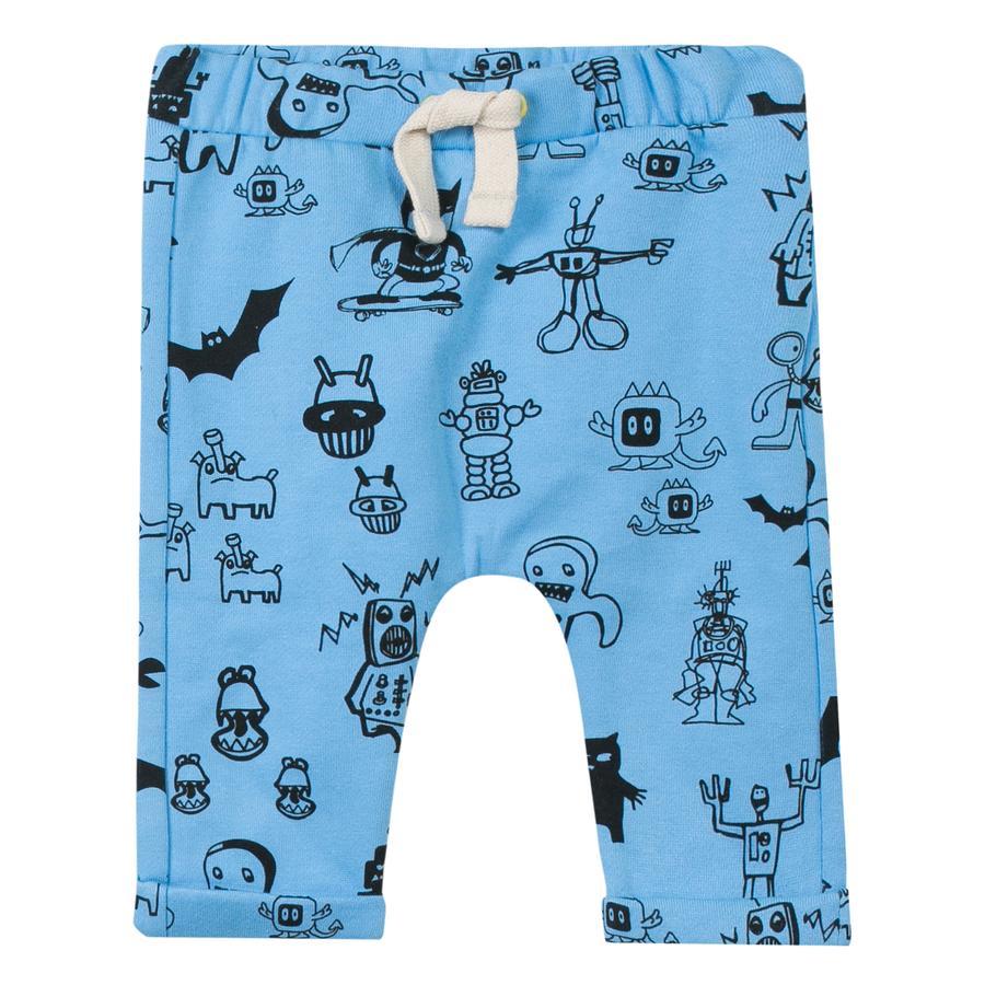 ESPRIT Boys Pantalón robot azul claro
