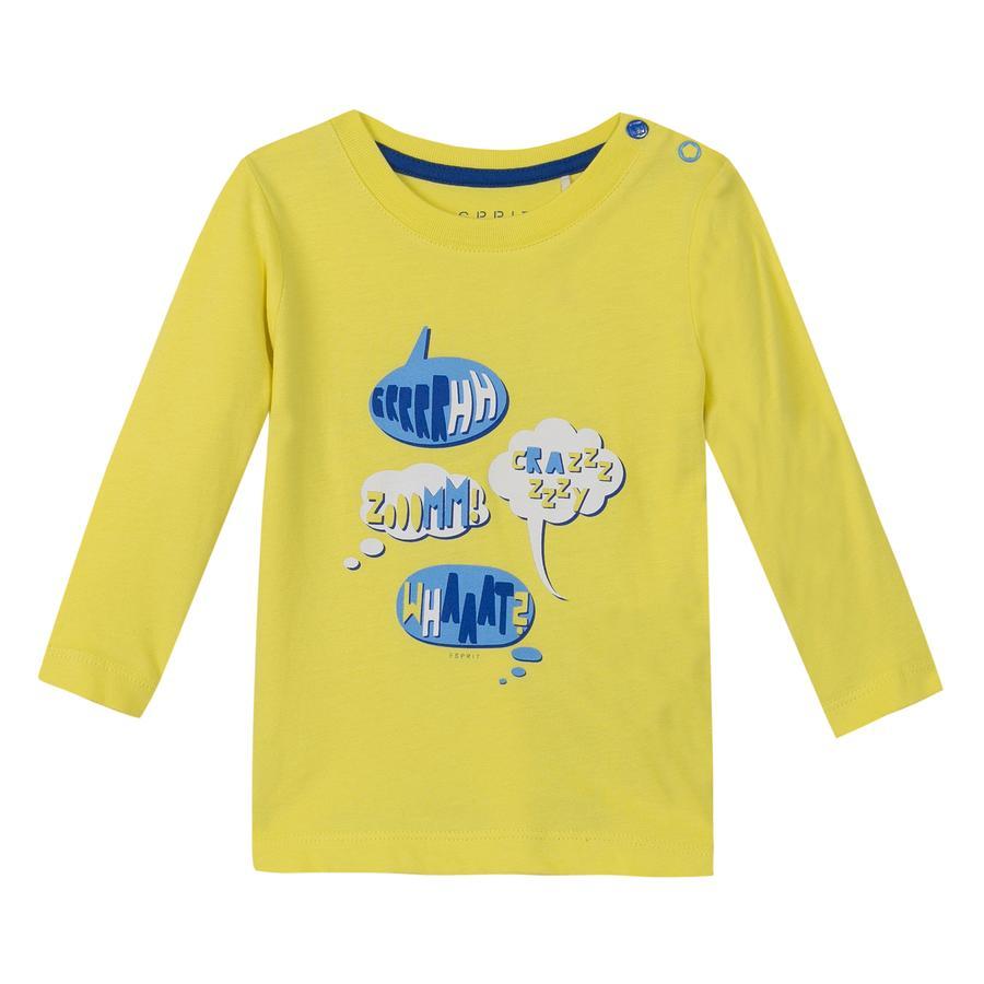 ESPRIT Boys Gele spraakbellen met lange mouwen