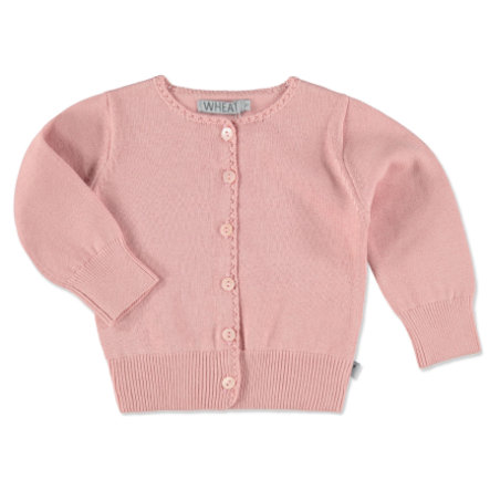 WHEAT Cardigan Classic rose