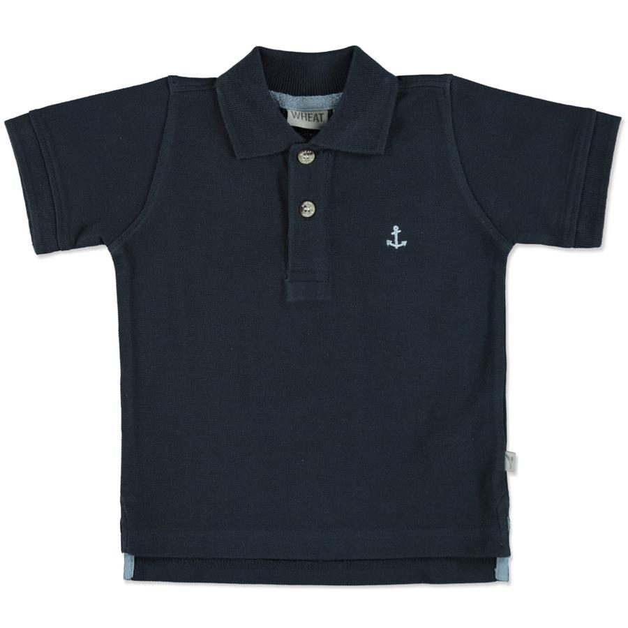WHEAT Poloshirt Anchor marine