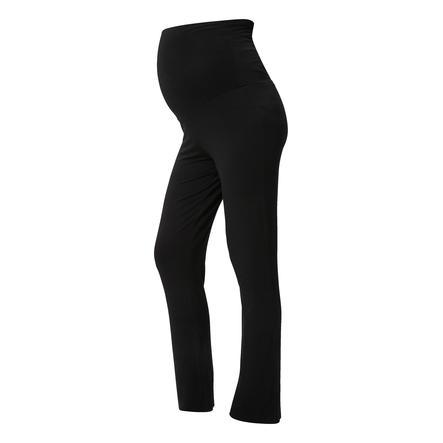 mama licious Spodnie ciążowe Yoga MLROSA czarny