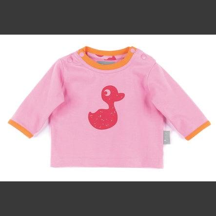 sigikid Girls tričko s dlouhým rukávem prism pink