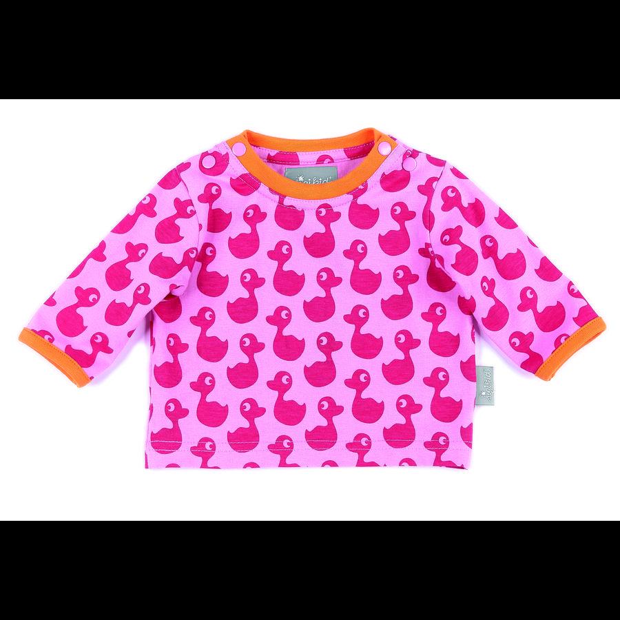 sigikid Girl s Overhemd met lange mouwen prisma roze