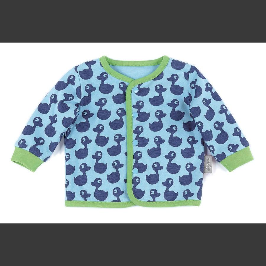 sigikid Boys Giacca in jersey blu cielo