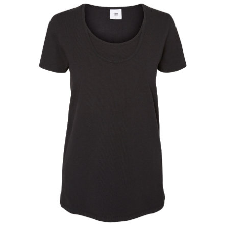 mama licious Umstands Shirt MLLEA Organic Nell 2er Pack schwarz