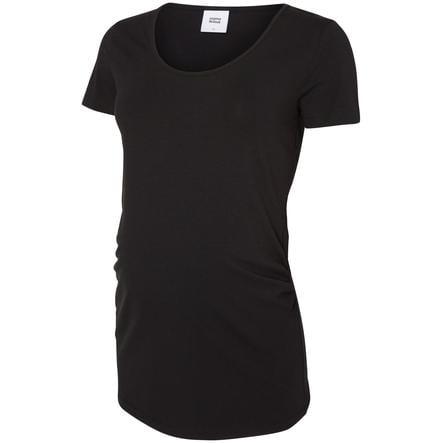 mama licious Těhotenské tričko LEA Organic, sada 2 ks, černé