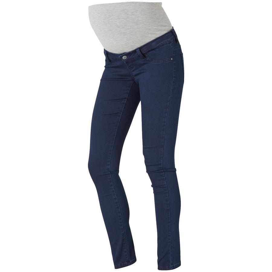mama licious circostanza pantaloni MLELLA SKINNY blu scuro Lunghezza: 34