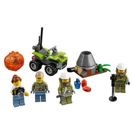 LEGO® City Starter Set Vulcano 60120