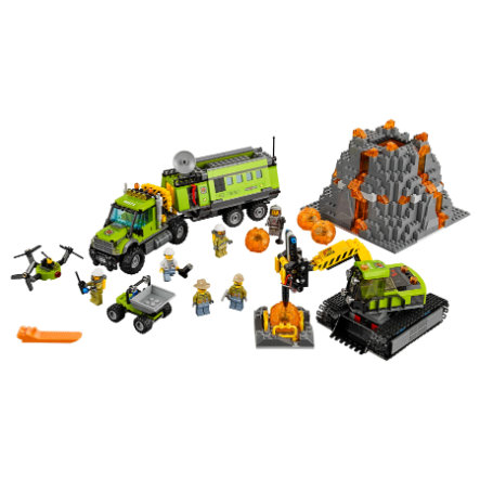 LEGO® City - Base esplorazioni vulcaniche 60124