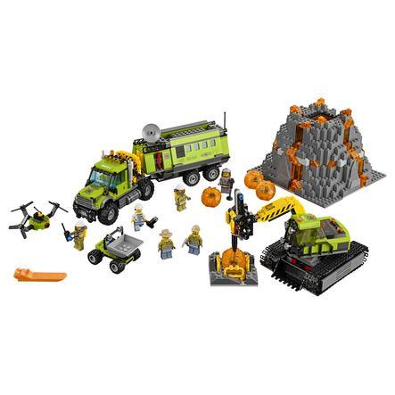 LEGO® City - La base d'exploration du volcan 60124