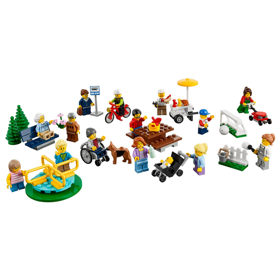 LEGO® City - Le parc de loisirs - Ensemble de figurines City 60134