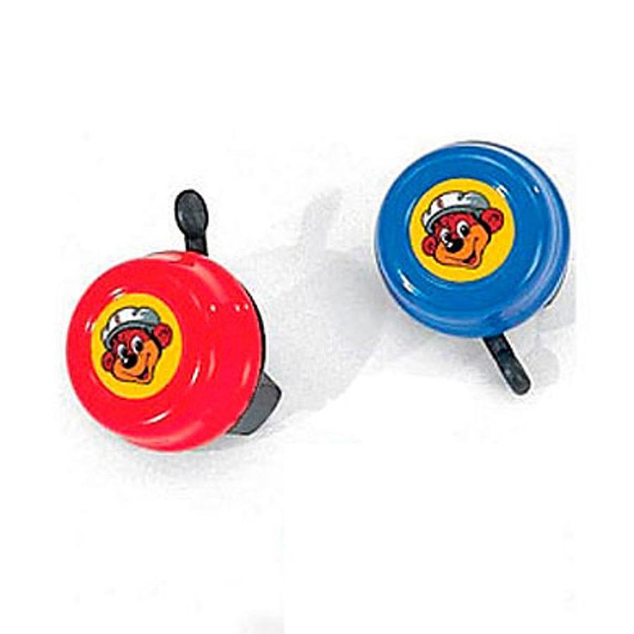 PUKY Ringklocka G22 röd/blå för springcyklar, sparkcyklar och cyklar