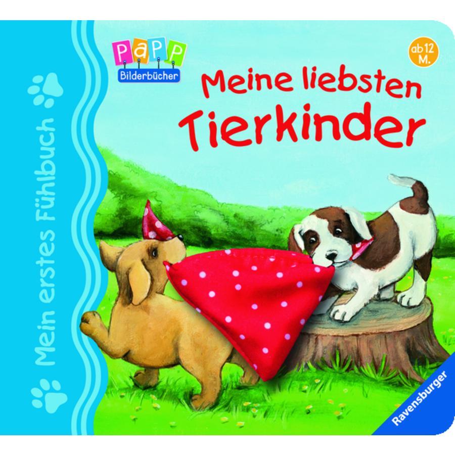 Ravensburger Mein erstes Fühlbuch: Meine liebsten Tierkinder