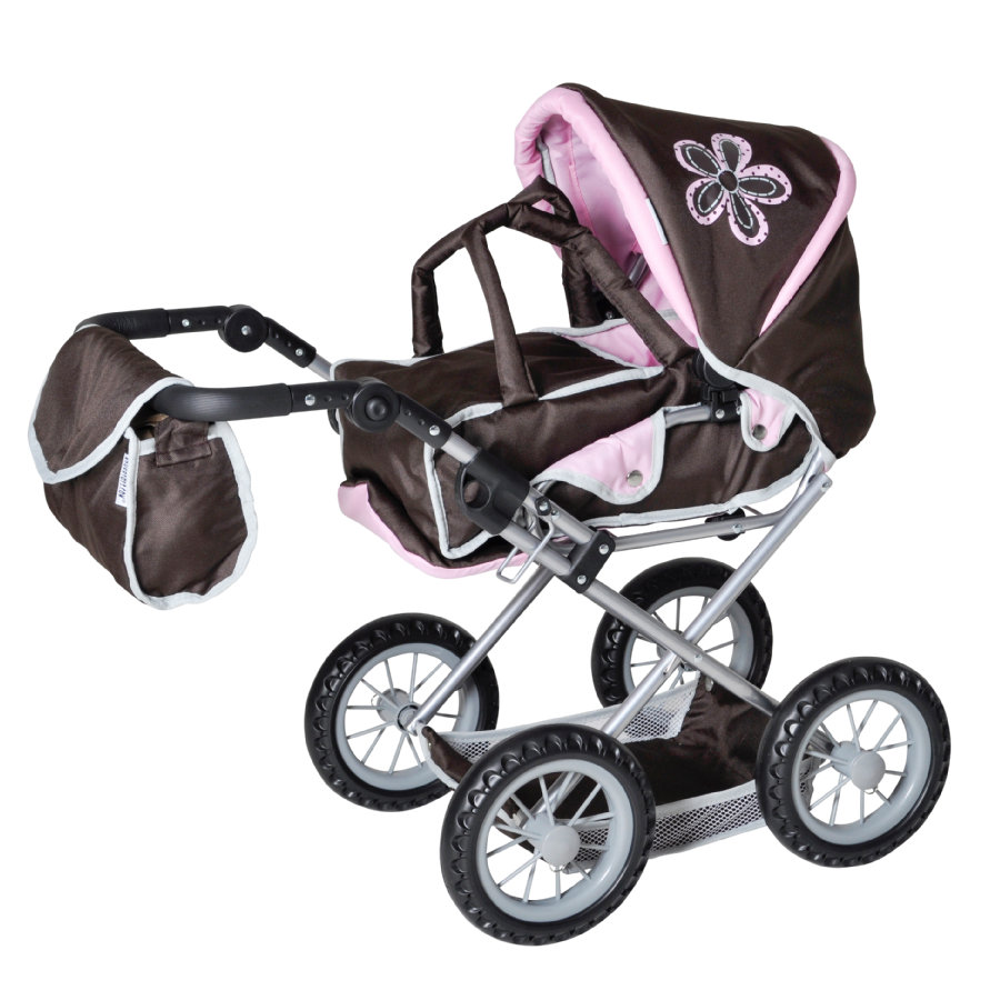 knorr® toys Passeggino duo Ruby - brown flower
