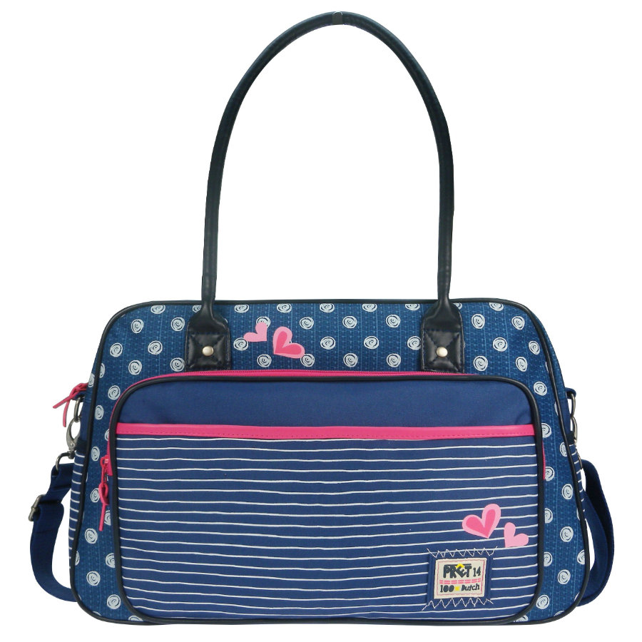 Candide Wickeltasche Pret Denimized navy