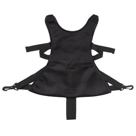 Baby Dan Cinturón de seguridad Lux para cochecito negro