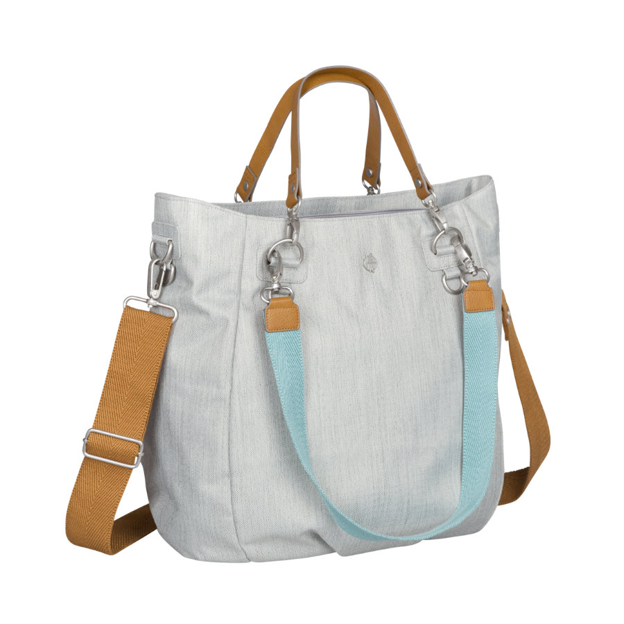 LÄSSIG Wickeltasche Green Label Mix 'n Match Bag light grey