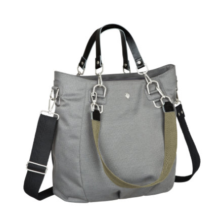 LÄSSIG Luiertas Green Label Mix 'n Match Bag anthracite