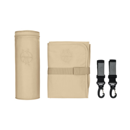 LÄSSIG Accessoires de sac à langer Glam Signature Bag, sandshell