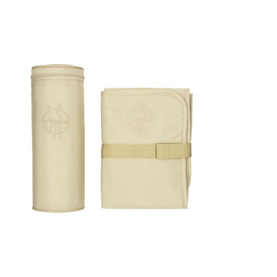 LÄSSIG Skötväska Glam Signature Bag med tillbehör sandshell