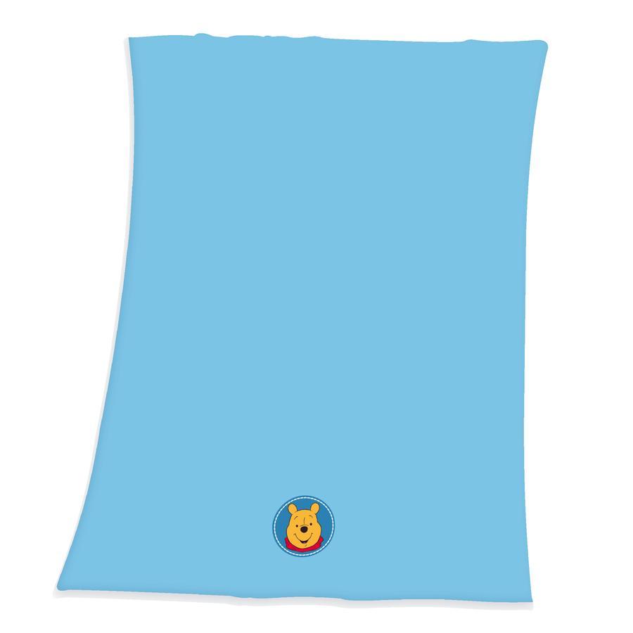 HERDING Flaušová deka medvídek Pú 75 x 100 cm