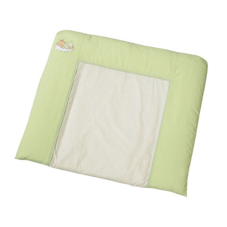 Easy Baby puslemåtte i stof, Sleeping bear grün (440-84)