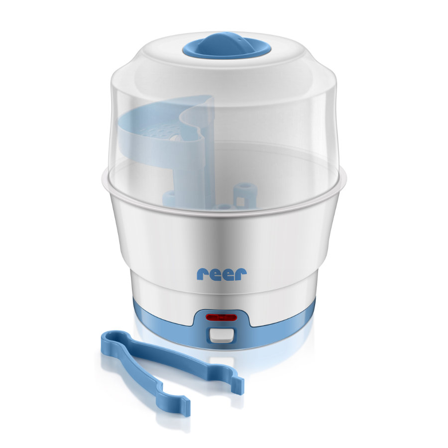 REER 36020 Sterilizátor VapoMat modrý, bílý