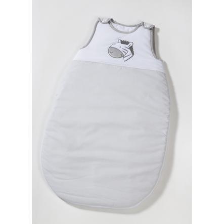 easy baby Śpiworek Zebra szary/biały
