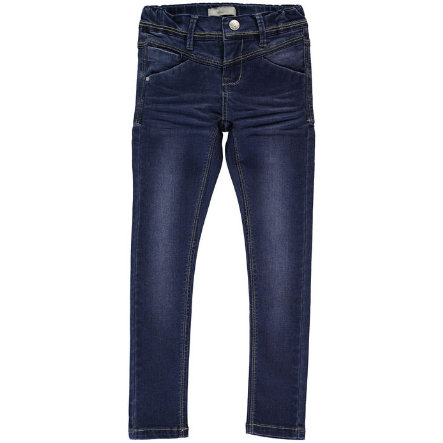 name it Girls Jeans Sus dark blue denim slim