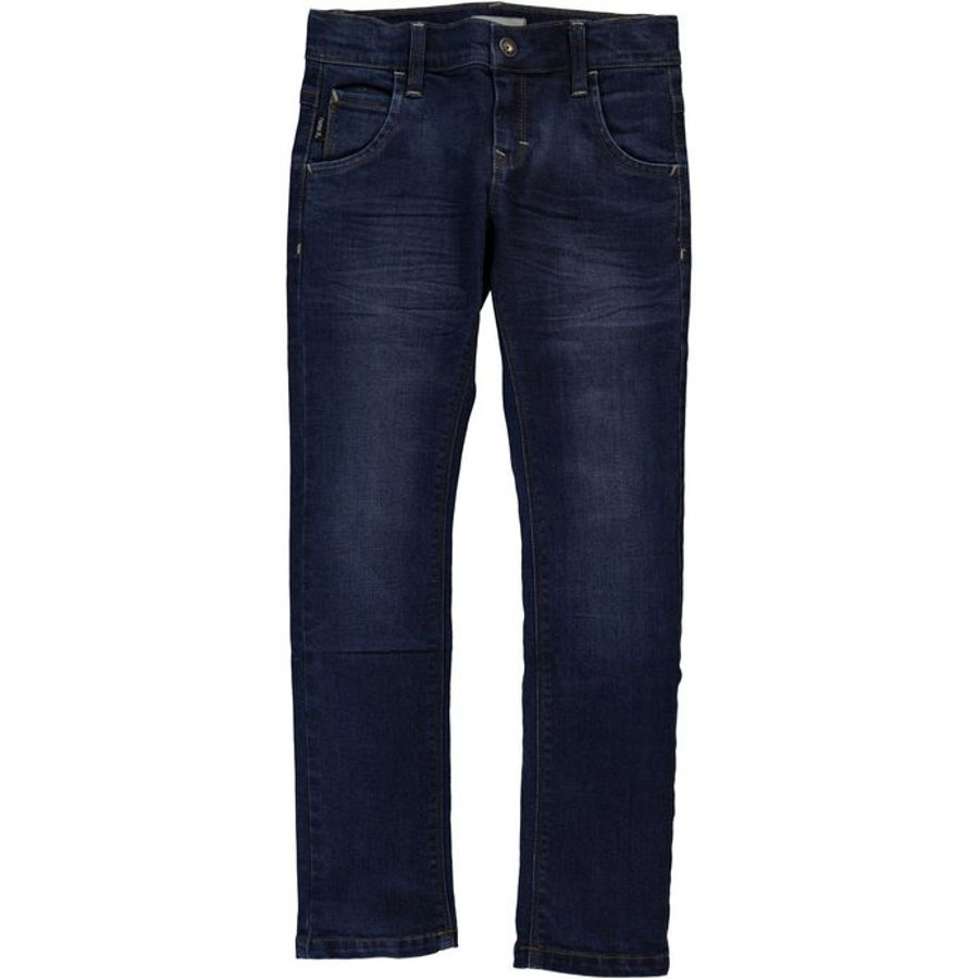 name it Boys Džíny Ralf dark blue denim slim
